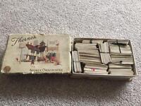 Vintage box & cigarette cards