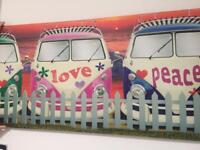 Large wall canvass £12