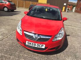 Vauxall corsa 1.3 red diesel mot 12/10/18£30 road tax one former owner full s...