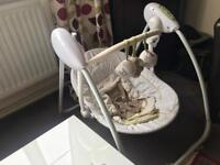 Baby Swinging Crib from Mothercare