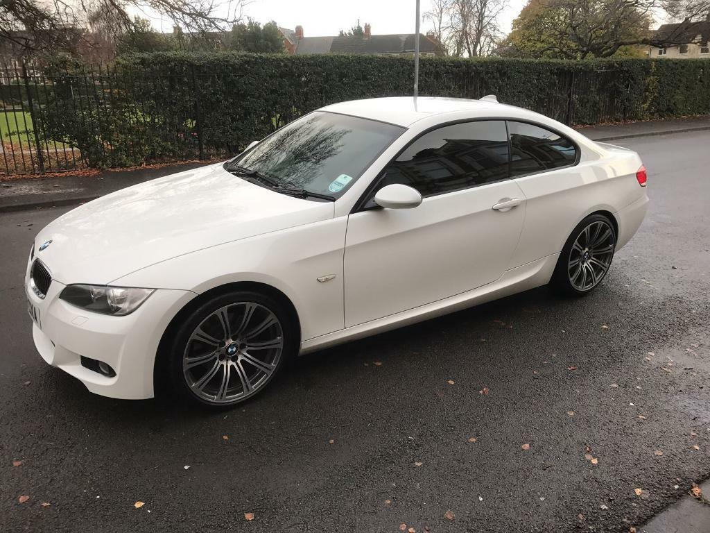 white bmw 3 series m sport immaculate condition idrive. Black Bedroom Furniture Sets. Home Design Ideas