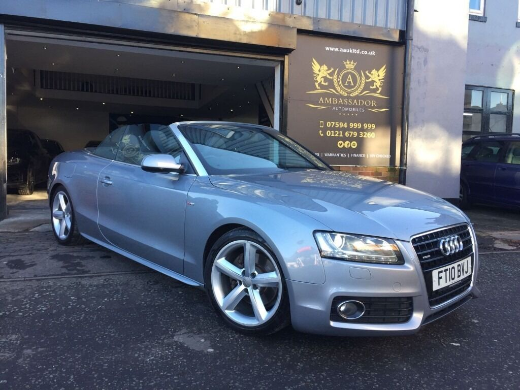 2010 audi a5 3 0 tdi s line s tronic quattro convertible 2dr ecu mapped lowered suspension in. Black Bedroom Furniture Sets. Home Design Ideas
