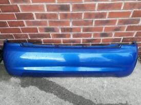 Kia Picanto SE 2004-2007 Rear Bumper In Blue