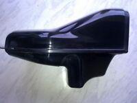 gsxr srad 600 750 ram air duct\tube ( black )