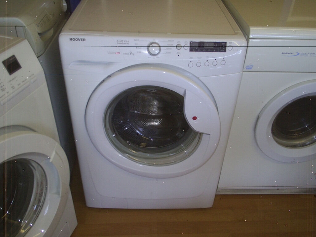 hoover vision hd mega 9kg white washing machine fully reconditioned clean in cudworth south. Black Bedroom Furniture Sets. Home Design Ideas