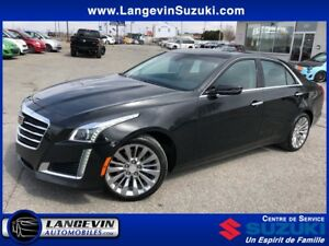 2015 Cadillac CTS 3.6L Luxury/AWD/CUIR/GPS/TOIT OUVRANT