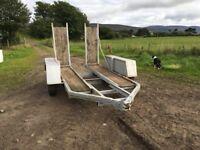 Low Loader Tractor trailer
