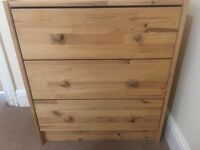 IKEA RAST chest of 3 drawers