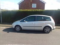 ford c max with service history and new clutch on 15/2/17