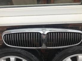Jaguar X Type front grill