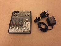 Behringer Xenyx 802 Audio Mixer (8 Input 2 Bus)