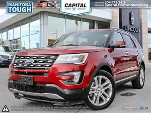 2016 Ford Explorer Limited **Heated Seats-Rear Cam-Low Kms**