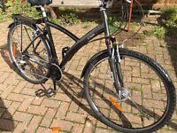B`TWIN Dutch Style Unisex. Bike hybrid bicycle