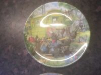 WIND AND THE WILLOW PLATES FROM BEATRIX POTTER
