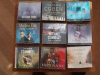 16 Audio CD's