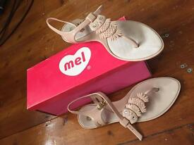 Mel owl ladies sandals