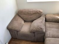 3 Seater sofa and armchair set