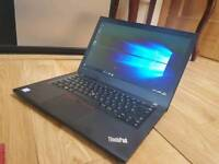 AS NEW + GUARANTEE TOP END LATEST LENOVO T470 ULTRABOOK I5 6TH GEN 256SSD CAN DELIVER or POST