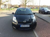 Toyota Yaris Automatic With Reverse Parking Sensors and 1 Year MOT Immaculate Condition HPI CLEAR