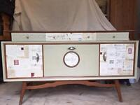 Quirky retro 60s sideboard with a French style twist