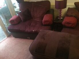 FREE!!!! Sofa and two chairs