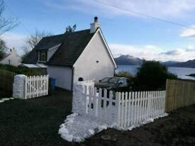 Under Offer : 2 bed detached , Camuscross, Isleornsay, Isle of Skye IV43 8QS - Offers over :