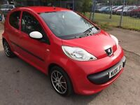 06 PEUGEOT 107 URBAN 5 DOOR HATCHBACK £20 YEAR TAX MILES 79179 MOT 24/2/17 NICE CLEAN FAMILY CAR