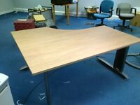 Corner Workstation for office use. Item is used but in very good condition
