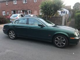 Jaguar S Type Sport - British Racing Green