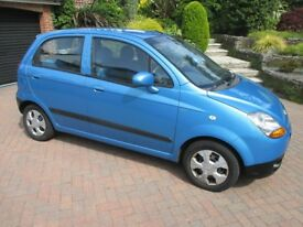 CHEVROLET MATIZ SE 995CC 2007 5-DOOR HATCHBACK