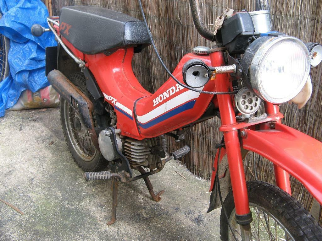 honda px 50 off road style moped 1984 in brighton east. Black Bedroom Furniture Sets. Home Design Ideas