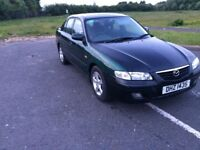 2002 Mazda 626, tow bar, full year MOT - trade ins & swaps welcome - delivery available