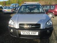 HYUNDAI TUCSON 2.0 GSI 5dr 2WD MOT JULY2018 A NICE LOOKING JEEP. (silver) 2006
