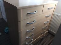 Chest of drawers 5 + 2 beach
