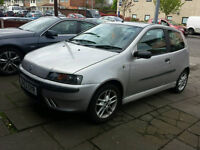 2004 fiat punto sporting. 1.2 litre. 6 speed. New clutch. Low miles. Full mot