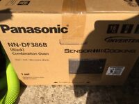 Panasonic NN-DF386B combination microwave oven NEW IN BOX
