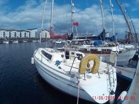 32 ft Jeanneau Attalia sailing Yacht