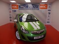 Vauxhall Corsa STING AC(A MUST FOR VIEWING)FREE MOT'S AS LONG AS YOU OWN THE CAR!!! (green) 2014