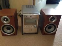 REDUCED! JVC UX-S57 micro system