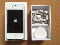 Apple iPhone 4S 32GB White, EE