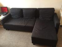 Ikea corner sofa with storage box Free delivery