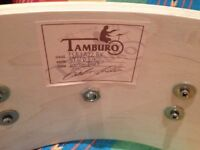 Beautiful (and, powerful) Tamburo Signature Snare 14x6