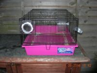 Small Pet Pink Indoor Cage