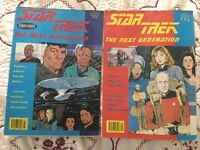 2 Very Rare 1st Edition Star Trek The Next Generation Comics