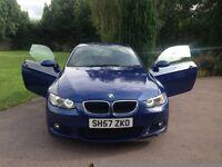 BMW 3 Series 2.0 320d M Sport 2dr 2007 (57 reg), Coupe full mot