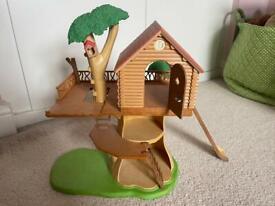 Sylvanian Families Treehouse.