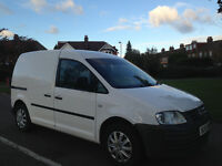 Volkswagen Caddy, NO VAT, Plylined with Shelves, Twin Side Loading Doors