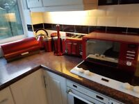 Red Kitchen Kitchen Accessory Sets For Sale Gumtree