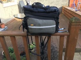 Topeak Pannier Bag, Rack & Waterproof Cover
