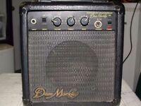 Dean Markley K-15 Guitar Amp 30W practice warm-up rehearsal home garage compact intimate gig busking